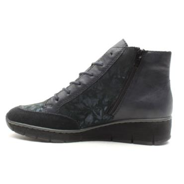 RIEKER 73731 LACED SHOE - NAVY