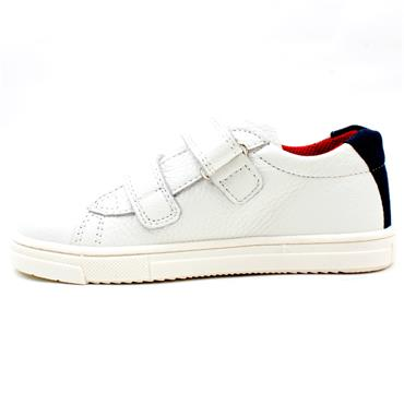 PRIMIGI 7402400 JUNIOR SHOE - WHITE RED