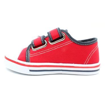 PRIMIGI 7445822 CANVAS SHOE - RED