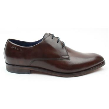 BUGATTI 75208 LACED DRESS SHOE - DARK BROWN