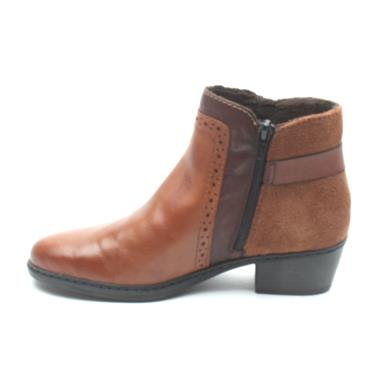 RIEKER 75585 ANKLE BOOT - Tan