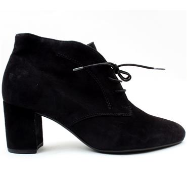 GABOR 75610 ANKLE BOOT - BLACK SUEDE