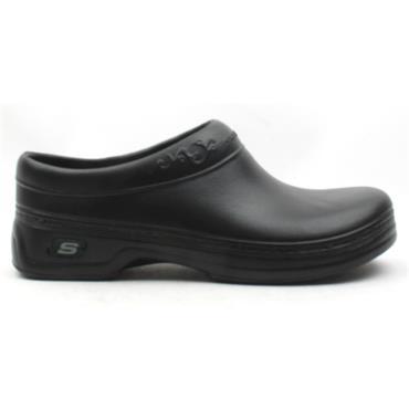 SKECHERS 76381EC SLIP RESISTANT - Black