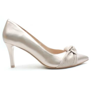 EMIS 7684 442 COURT SHOE - CHAMPAGNE
