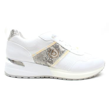 BUGATTI 77203 LACED RUNNER - WHITE