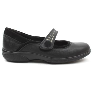 DB 78313BUXTON EE STRAP SHOE - Black