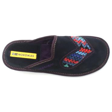 NORDIKA 8130 MULE SLIPPER - NAVY