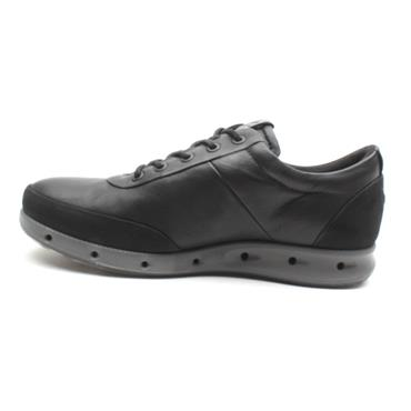 ECCO 831384 LACED SHOE - BLACK/BLACK