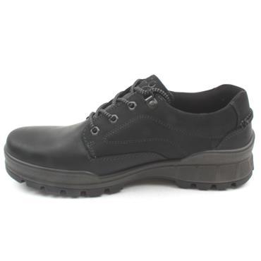 ECCO 831844 LACED SHOE TRACK 25 - BLACK/BLACK