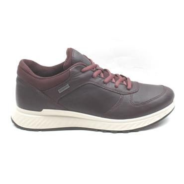 ECCO 835303 GORTEX SHOE - WINE