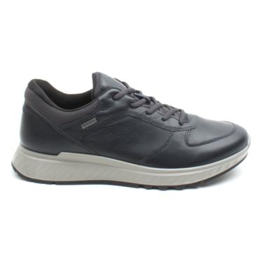 ECCO 835304 LACED GORTEX SHOE - NAVY