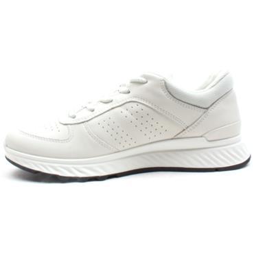ECCO 835313 LACED SHOE - WHITE
