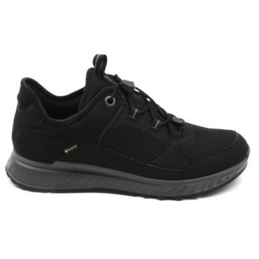 ECCO 835333 LACED WATERPROOF - Black