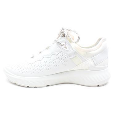 ECCO 837313 ST.1 SHOE - WHITE