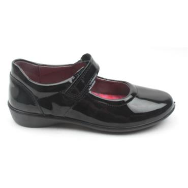 RICOSTA 8520100BETH GIRLS SHOE - BLACK PATENT