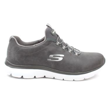 SKECHERS 88888301 LACED RUNNER - CHARCOAL