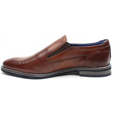 BUGATTI 89660 SLIP ON SHOE - TAN
