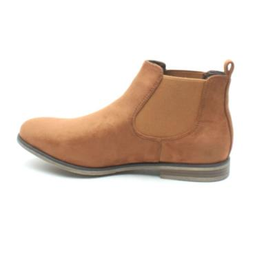 RIEKER 90064 GUSSET ANKLE BOOT - Tan