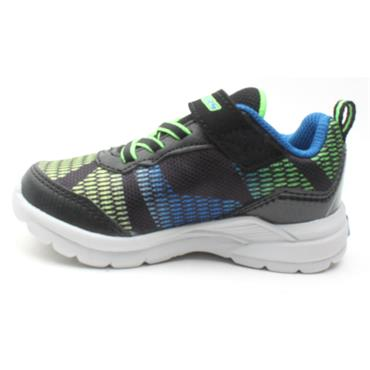 SKECHERS 90553 RUNNER - BLACK BLUE
