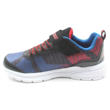 SKECHERS 90553 RUNNER - BLACK/RED