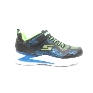 SKECHERS 90563L JUNIOR RUNNER - BLUE MULTI
