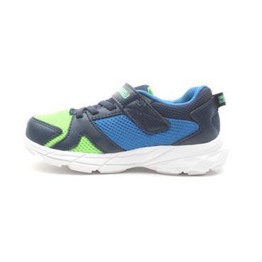 SKECHERS 95020N JUNIOR RUNNER - BLUE MULTI