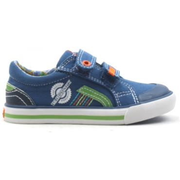 PABLOSKY 953410 JUNIOR CANVAS SHOE - BLUE