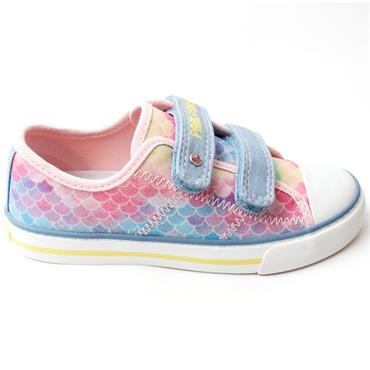 PABLOSKY 962711 CANVAS JUNIOR SHOE - MULTI