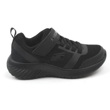 SKECHERS 98302L JUNIOR RUNNER - BLACK/BLACK