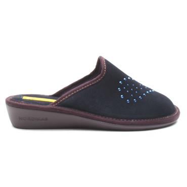NORDIKA 9841 SLIPPER MULE - NAVY