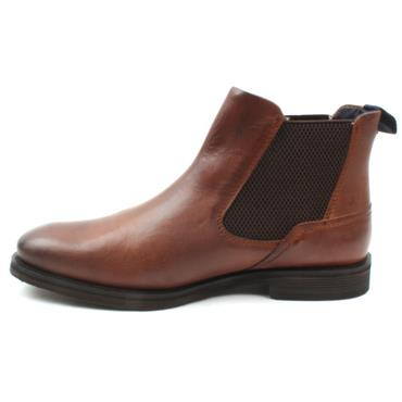 BUGATTI A0830 GUSSET BOOT - BROWN