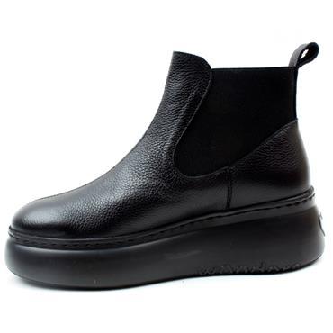 WONDERS A2604 BOOT - Black