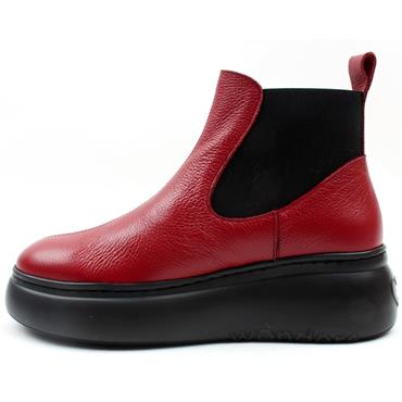 WONDERS A2604 BOOT - RED