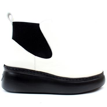 WONDERS A2604 BOOT - WHITE