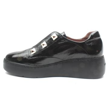 WONDERS A8334 SLIP ON SHOE - Black
