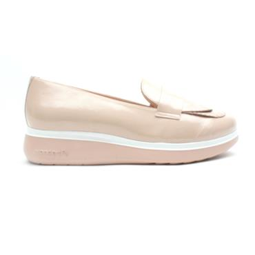 WONDERS A9703 WEDGE SHOE - NUDE PATENT
