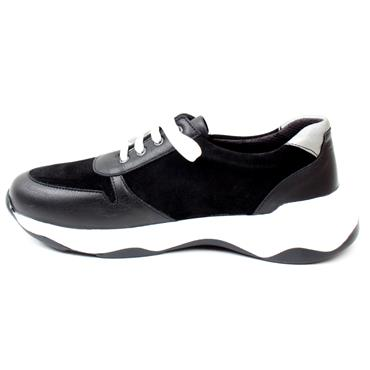 SOFTMODE ABBY WIDE FIT SHOE EEE - Black