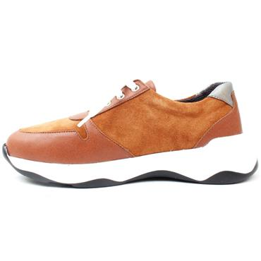 SOFTMODE ABBY WIDE FIT SHOE EEE - TAN