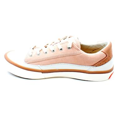 CLARKS ACELEY LACE SHOE - LIGHTPINK