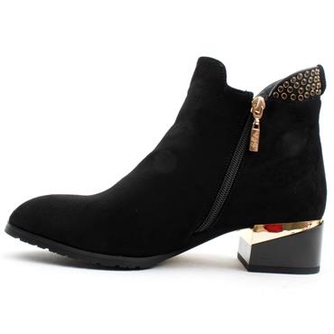 KATE APPLEBY ACLE BOOT - BLACK SUEDE