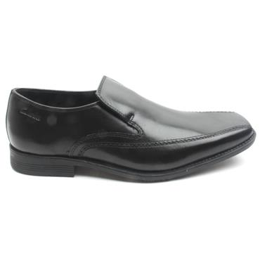 CLARKS ACRE OUT SLIP ON - Black