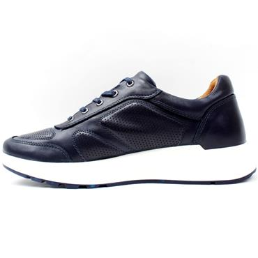 ESSE ACTIVE LACED SHOE - NAVY