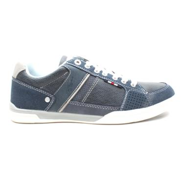 LLOYD AND PRYCE ADDISON LACED SHOE - NAVY