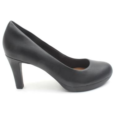 CLARKS ADRIELVIOLA COURTS SHOE - BLACK D