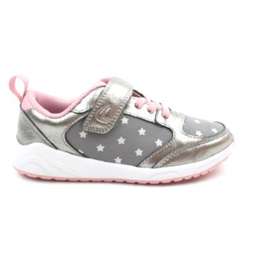 CLARKS AEON FLEX JUNIOR RUNNER - PEWTER F