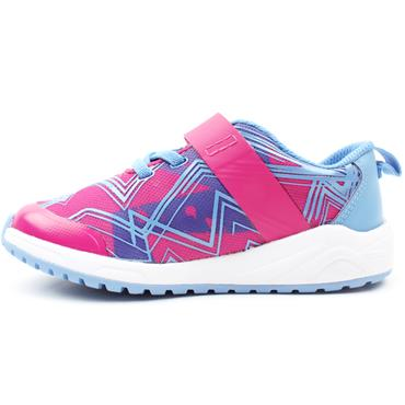 CLARKS AEON PACE T RUNNER - PINK MULTI F