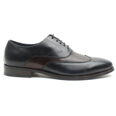 BOWE ALLIANZ DRESS SHOE - NAVY/TAN