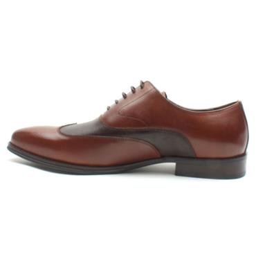 BOWE ALLIANZ DRESS SHOE - WHISKEY
