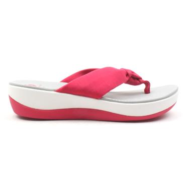 CLARKS ARLA GLISON TOE POST - ROSE