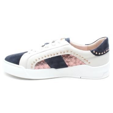 AMY HUBERMAN BY BOURBON ASK ANY GIRL - NAVY MULTI